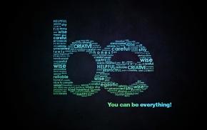 мотивация, простой фон, типография