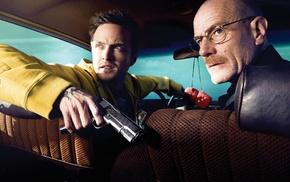 Breaking Bad, Jessie Pinkman, Aaron Paul, Heisenberg, Bryan Cranston, Walter White