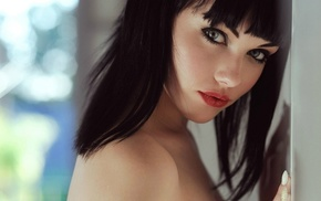 girl, Suicide Girls, bare shoulders, Melissa Clarke