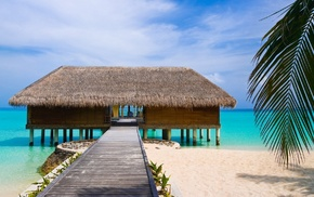 berth, beach, summer, sea