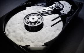 Hard drives, monochrome, nsx