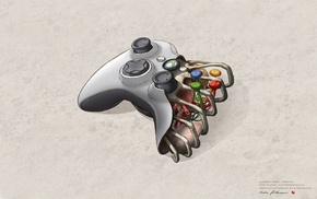 Xbox, bones, Joystick, Organs, Xbox One
