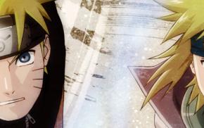 блондинка, Узумаки Наруто, Наруто, голубые глаза