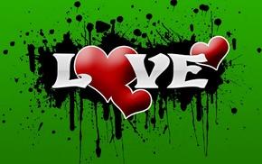 love, inscription, heart
