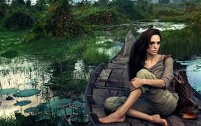 girl, Angelina Jolie, model, celebrity