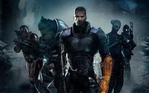 Mass Effect, Commander Shepard, Mass Effect 2, Mass Effect 3, video games