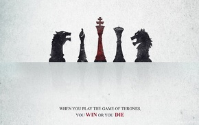 typography, chess, Game of Thrones, A Song of Ice and Fire