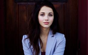 Emily Rudd, face, blue eyes
