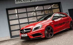Mercedes, машина, красные машины
