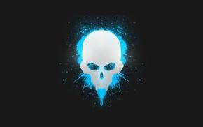 minimalism, pGc, skull