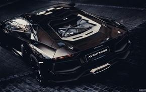 Lamborghini Aventador, Lamborghini, car, carbon fiber