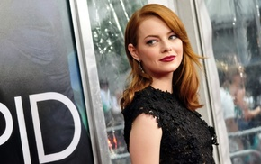 Emma Stone, girl, The Amazing Spider, Man, actress