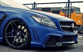 синие машины, Mercedes, машина