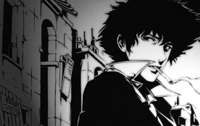 Spike Spiegel, smoking, Cowboy Bebop