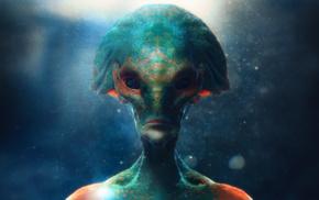 aliens, CG, 3D