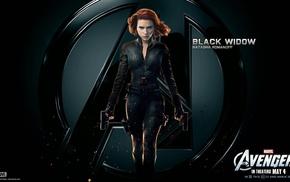 Scarlett Johansson, Black Widow, superheroines, The Avengers