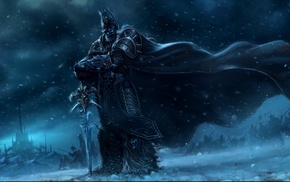 Arthas, World of Warcraft, World of Warcraft Wrath of the Lich King, Lich King, artwork