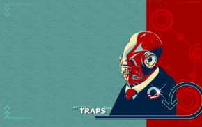 humor, movies, simple, space, Admiral Ackbar, suits