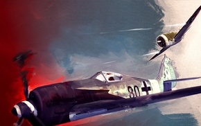 fw 190, artwork
