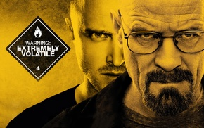 Walter White, Aaron Paul, Jesse Pinkman, warning signs, Breaking Bad, Bryan Cranston