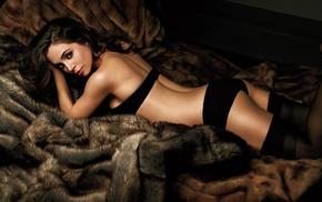 black lingerie, erotic, girls