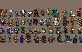 video games, minimalism, heroes, Dota 2