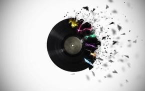 colorful, vinyl