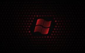 красный, Windows 7, Microsoft Windows, черный