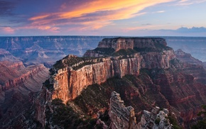 landscape, mountain, Grand Canyon