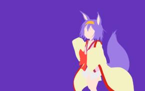 anime vectors, vectors, Hatsuse Izuna, No Game No Life