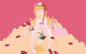 anime vectors, Monogatari Series, Oshino Shinobu, vectors