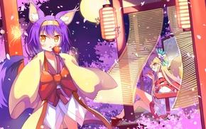 fox girl, kimono, No Game No Life, Hatsuse Izuna, animal ears