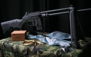 ХМ193, оружие, штурмовая винтовка, подставка, гильзы