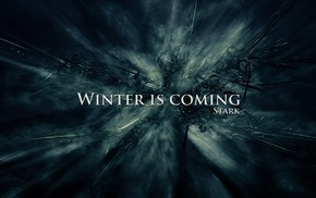 Winter Is Coming, Game of Thrones, House Stark, A Song of Ice and Fire