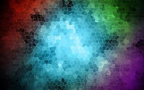 цифровое искусство, абстрактные, красочно