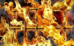 3D, fire