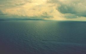 море, облака