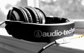 headphones, audio, technica