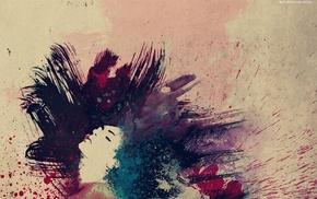 брызги, текстура, креатив, Краска
