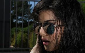 sunglasses, brunette, girl, Sunny Leone
