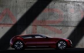 gray, auto, wall, cars, inscription