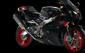 motorcycles, red, black, motorcycle