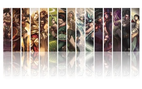 Лига Легенд, девушка, игры