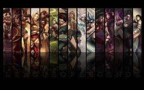 игры, девушка, Лига Легенд