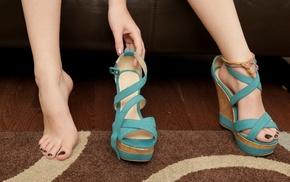 высокие каблуки, ноги, босиком, ножки