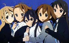 K, ON, anime girls, Nakano Azusa, Hirasawa Yui