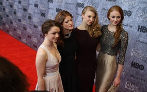 Sansa Stark, Natalie Dormer, Arya Stark, Margaery Tyrell, Maisie Williams, Ygritte