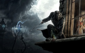 video games, steampunk, concept art, Dishonored, artwork