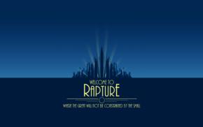 BioShock, video games, Rapture, city, artwork, sea