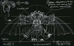 artwork, Songbird BioShock, blueprints, BioShock Infinite, video games